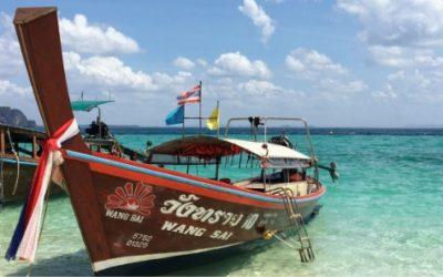 タイの至宝ビーチリゾート「クラビ・ポダ島」魅力と行き方を紹介します