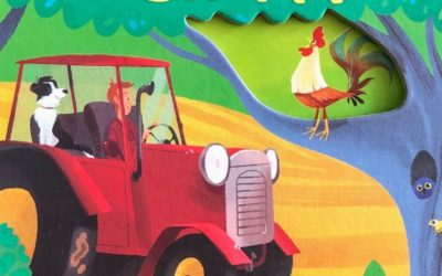 Peep inside the farm|丁寧な仕掛けが子どもの好奇心を刺激!満足度200%の英語絵本