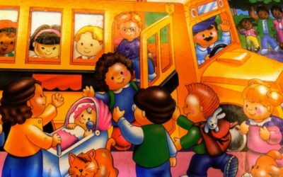 My Little People School Bus 日常生活で役立つ英語表現を効果的に学べる絵本
