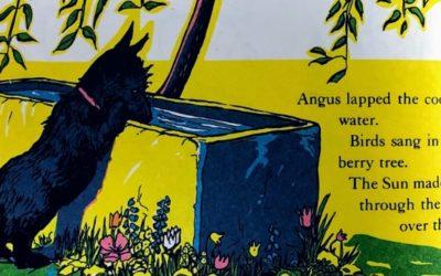 Angus and the Ducks|ほのぼのしたストーリーの中に教訓も含むお洒落な英語絵本