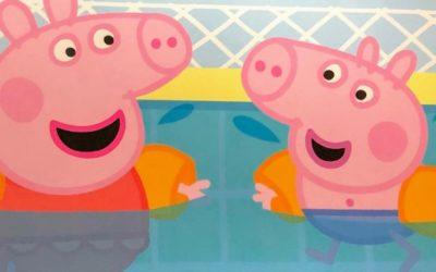 Peppa Goes Swimming|子供が初めてプールに挑戦する前に読みたい英語絵本