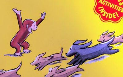 Curious George and the Puppies|ペット好きな子どもにおすすめの英語絵本